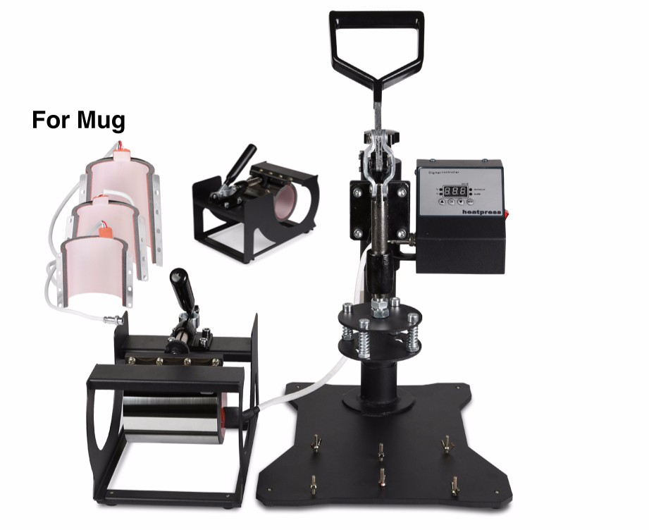 5 In 1 Digital Heat Press Machine Sublimation Printing 2