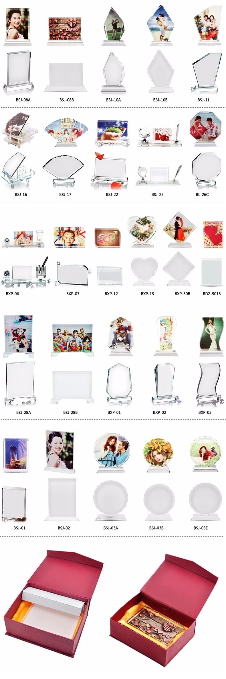 Sublimation Crystal Glass