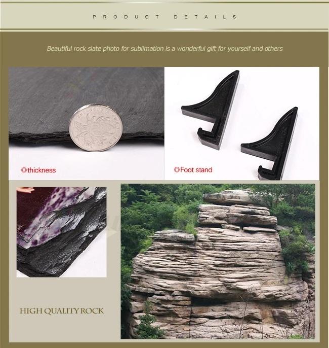 Blank Sublimation rocks