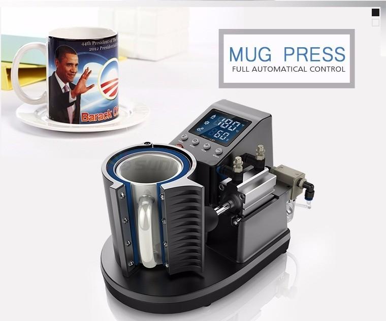 Pneumatic Mug Press St-110