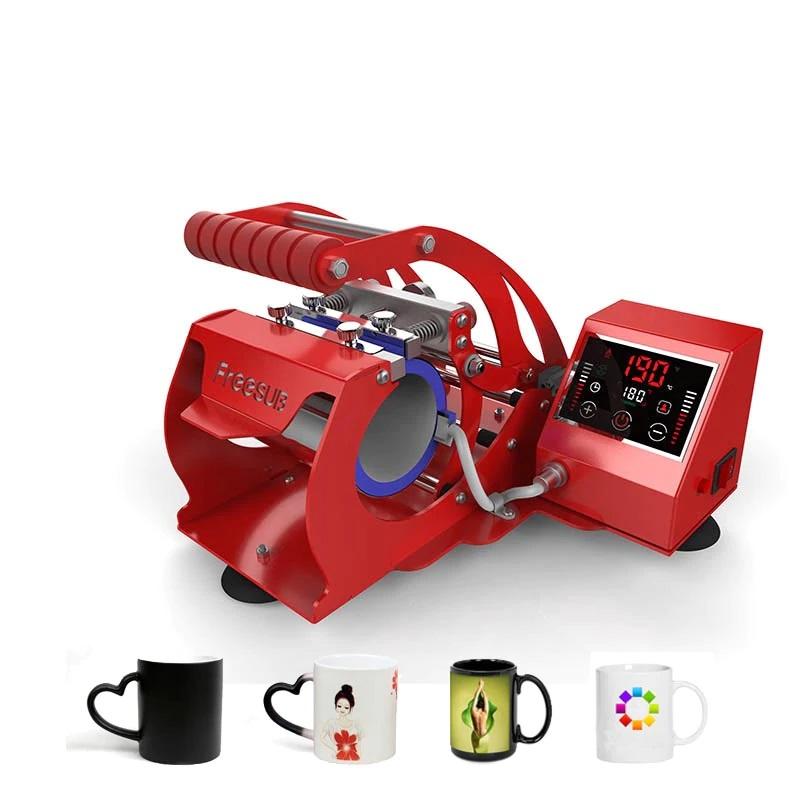 Single touch screen mug machine