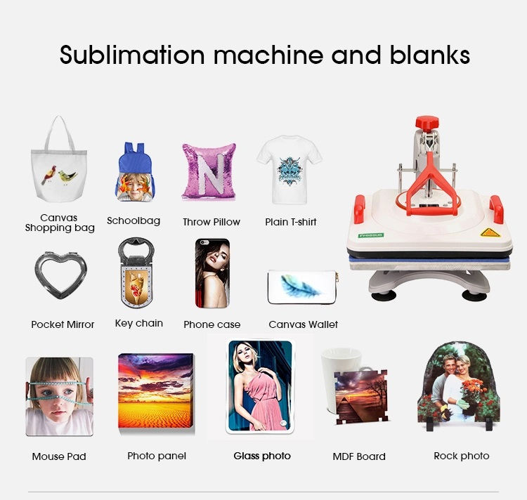 Sublimation 11 in one Heat press P8200 1