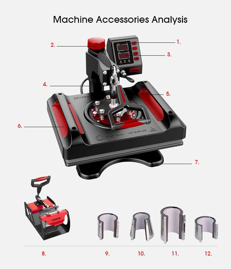 11 In 1 Combo Heat Press Machine